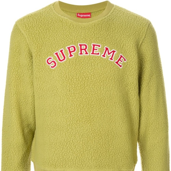 Supreme Other - Supreme Polartec Deep Pile Crewneck